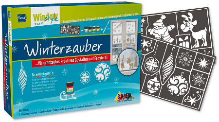 Window Style Winterzauber Design Set