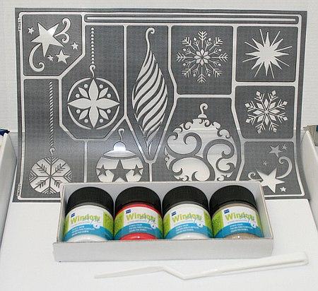 window style winterzauber set fensterbilder mit window style. Black Bedroom Furniture Sets. Home Design Ideas