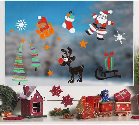 Adventsfenster Und Fensterbilder Zu Weihnachten Gestalten