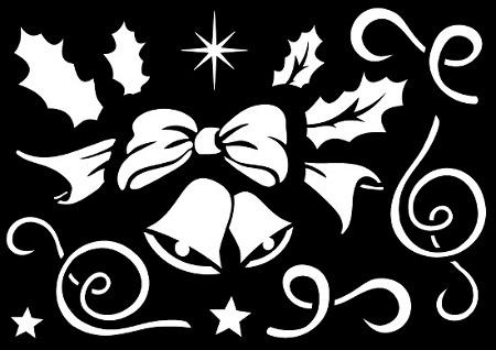 window style weihnachts set christmas fensterbilder. Black Bedroom Furniture Sets. Home Design Ideas