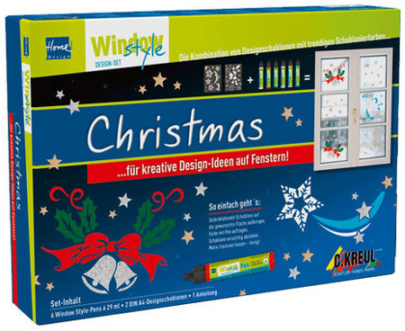 Window-Style Pen Set Christmas (Weihnachten)